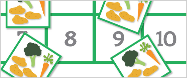 'Number Bonds to 10' Farm Maths Game