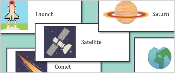 Editable Space Travel Labels