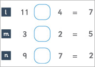 Add or Subtract Worksheet