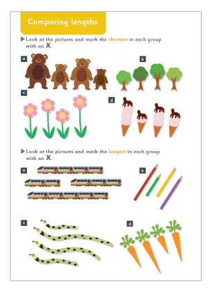 Pre School Worksheets » Addition Length Worksheets - Free ...
