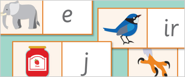 Phoneme / Grapheme Labels With Pictures