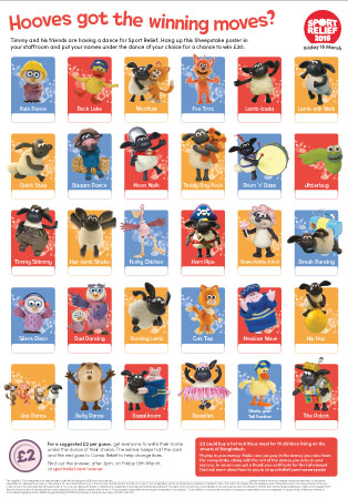 Sport Relief 2016: Sheepstake Poster