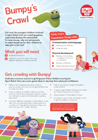 Sport Relief 2016: Bumpy's Crawl