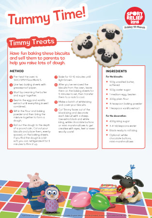 Sport Relief 2016: Recipes For Tummy Time
