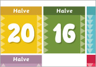Halves-game