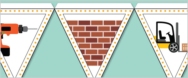 Construction Bunting