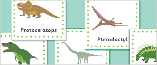 Dinosaur 15cm Cards