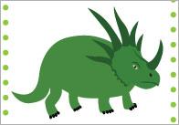 Dinosaur-15cm-cards
