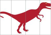 Dinosaur Alphabet Puzzles