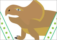 Dinosaur-bunting