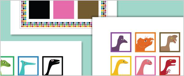 Dinosaur Colour Recognition Game