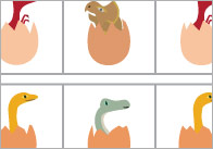 Dinosaur-egg-complete-the-sequence