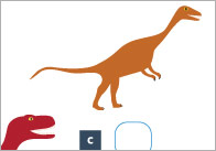 Dinosaur Measuring and Comparing Activity Mats