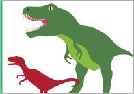 Dinosaur Size Comparison Cards