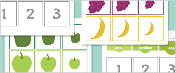 Food Size Sorting Game