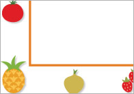 Fruit-and-vegetable-notepaper