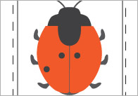 Ladybird Bingo (Numbers 0-5)