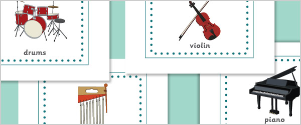 Musical Instruments A4 Posters