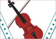 Musical Instruments Bunting