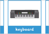 Musical Instruments Vocabulary Activity