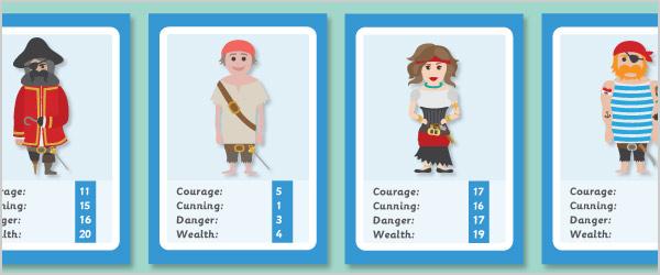 Pirate Card Game