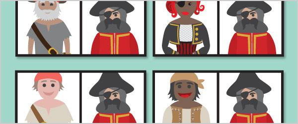 Pirate Dominoes