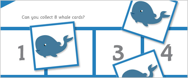Under the Sea Maths Game: All About 8