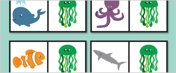 Under the Sea Dominoes