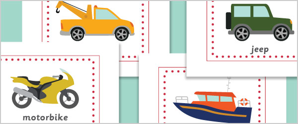 Vehicles A4 Posters