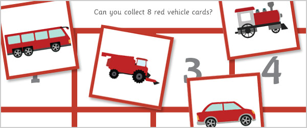Vehicle Maths Game – All About 8