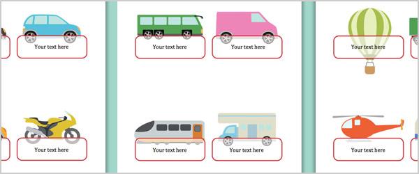 Vehicle Self-Registration Labels