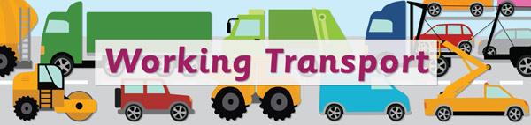 Working Transport Display Poster