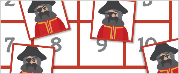Pirate Maths Game: 'All About 10'