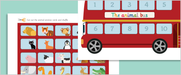 Animal Bus Addition / Subtraction