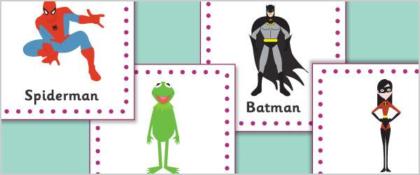 Children's TV 15cm Cards