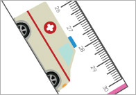 Emergency Vehicles Rulers