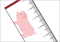Farm Animals Printable Rulers