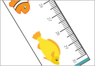 Fish Printable Rulers