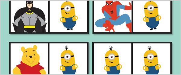 Children's TV Dominoes