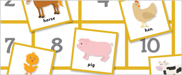 Animals Maths Game: All About 10