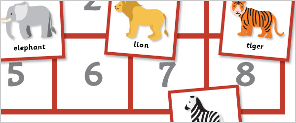 Animals Maths Game: All About 8