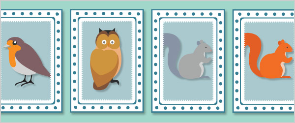 Animals Snap Cards / Matching Pairs
