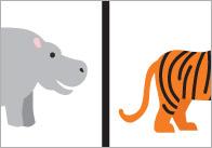 Exotic Animals Dominoes