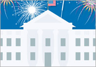 Independence Day Notepaper Designs