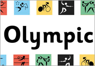 Olympic Display Banner