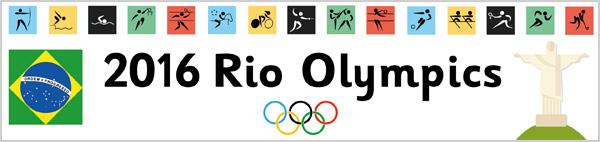 2016 Rio Olympics Display Banner