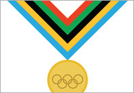 Olympic Themed Editable Certificates