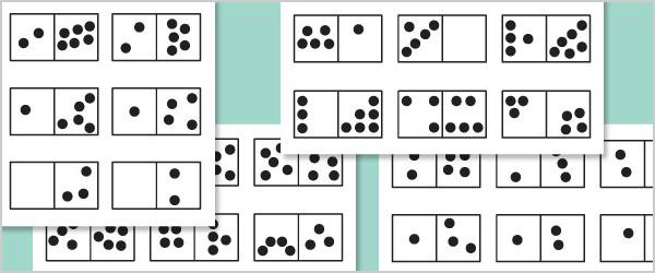 Small Irregular Dominoes