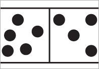 Large A4 Irregular Dominoes