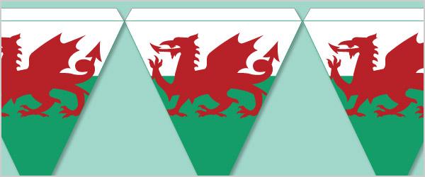 Welsh Bunting Printable Designs